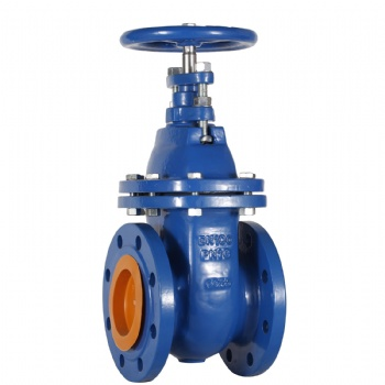 Dark rod hard seal gate valve